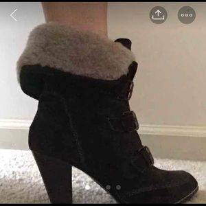 Sofft women's suede fur boots